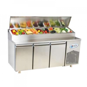 MPN3 Triple Door Refrigerated Make Up Counter