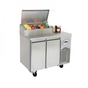 MGN2-4G Double Door Refrigerated Make Up Counter