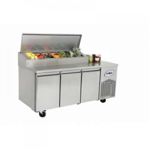 MPN3-7G Triple Door Refrigerated Make Up Counter