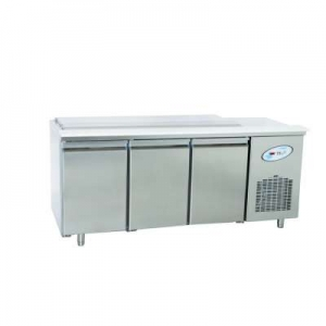 CGN3-4G Triple Door Service Counter With Stainles Steel Lid