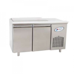 BGN2-3G Double Door Service Counter With Stainless Steel Lid