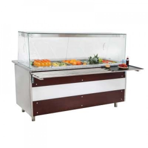 CGH3-TG Triple Door Service Counter With Bain Marie