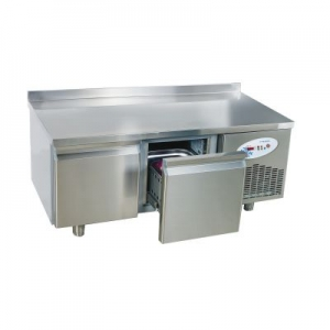 UGN2 Double Door Refrigerated Under Broiler Counter